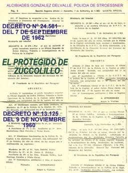 Victor baez mosqueira unico informante sindical de la for Decreto ministerio del interior